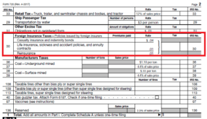 Form 720 Foreign Life Insurance Excise Tax